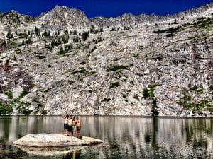 Shasta Trinity Alps Swimming