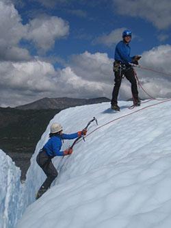Amara Cohen Alaska Ice Climbing Adventure Treks
