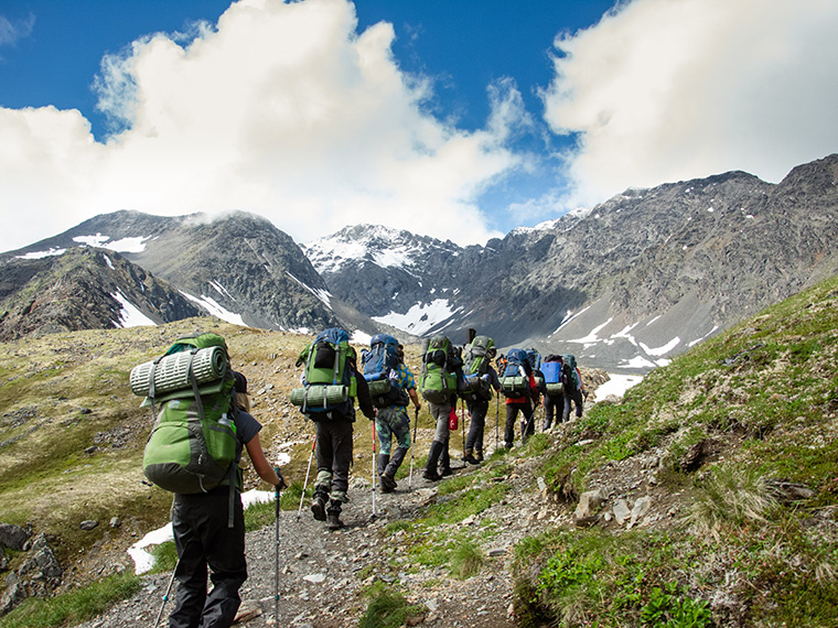 Alaska backpacking Adventure Treks Talkeetnas