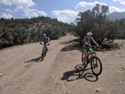 Adventure Treks Colorado Explorer mountain biking summer camp