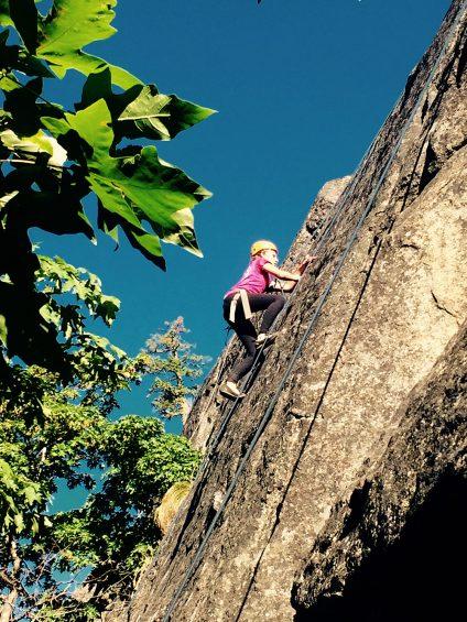 Adventure Treks Pacific Northwest Rock Climbing