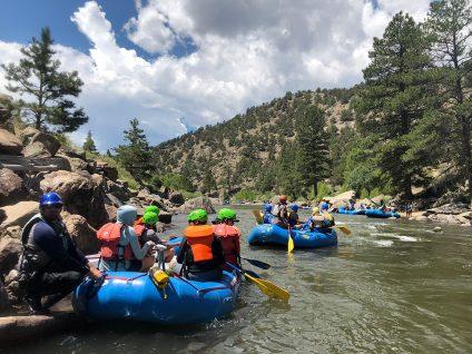 Adventure Treks Colorado Teen Trip Whitewater Rafting